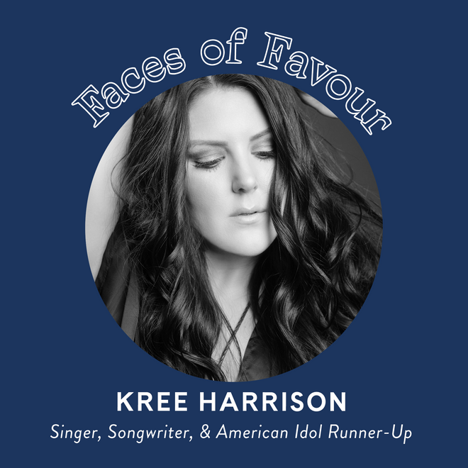 Faces of Favour: Kree Harrison