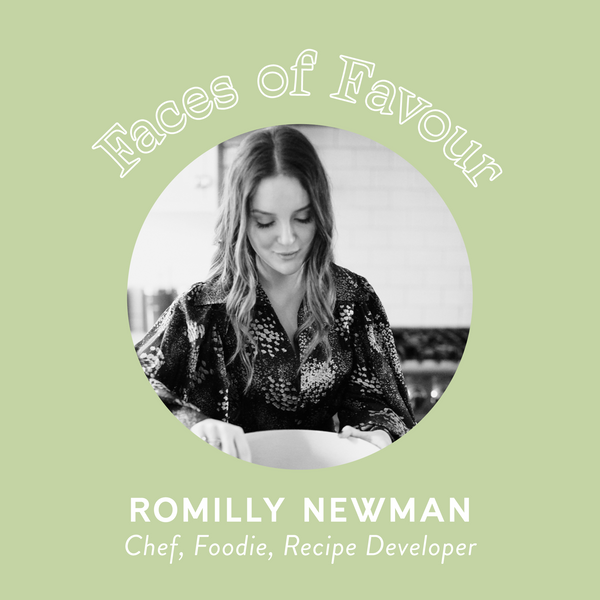 Faces of Favour: Romilly Newman (@foodbyromilly)