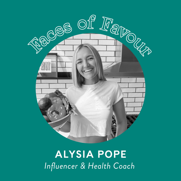 Faces of Favour: Alysia Pope (@purelypope)