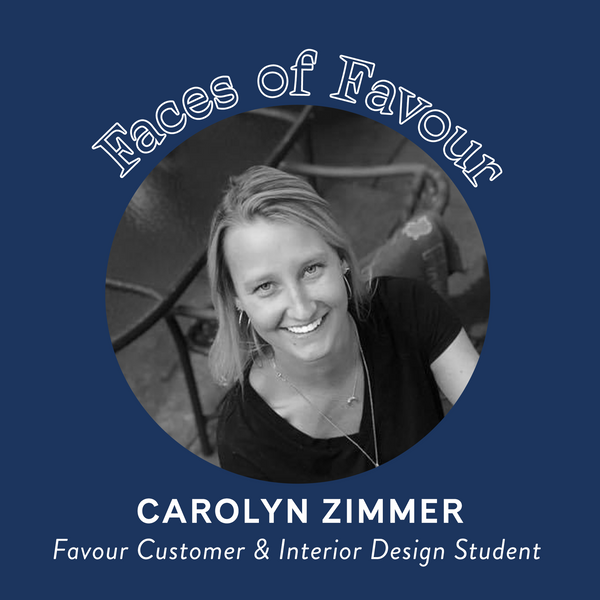 Faces of Favour: Carolyn Zimmer