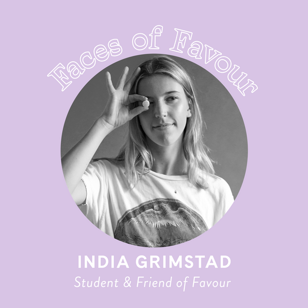 Faces of Favour: India Grimstad