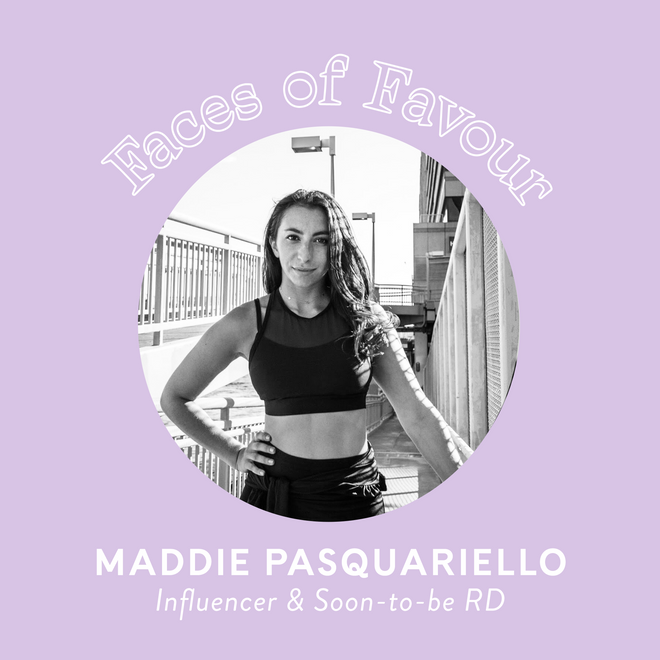 Faces of Favour: Maddie Pasquariello (@eastcoasthealth)