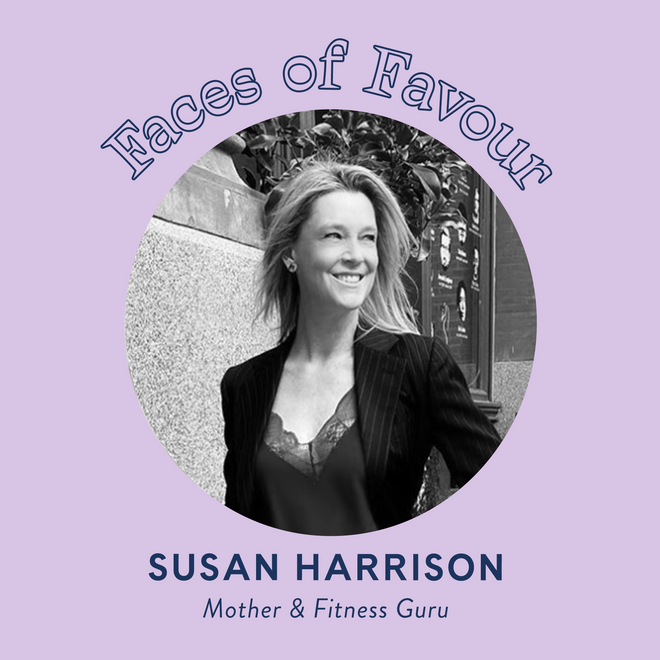 Faces of Favour: Susan Harrison