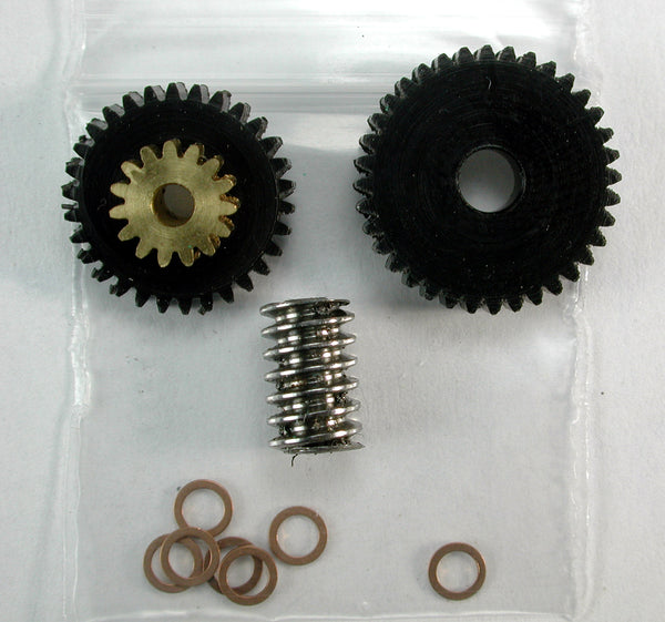Regear Set 1.5mm Shaft motor MDC Compound Gear KIT 72-1