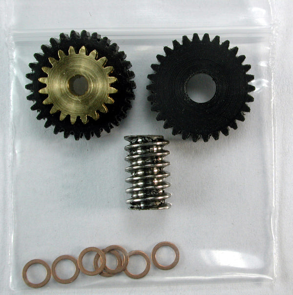 Regear Set 1.5mm Shaft motor MDC Compound Gear KIT 45-1