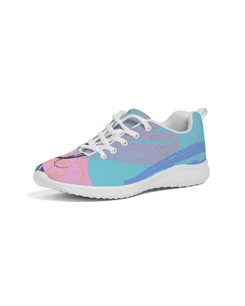 Color Splash Women's Athletic Shoe