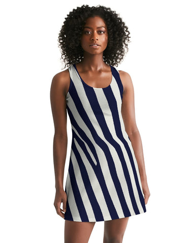 Zebra Women's Racerback Dress