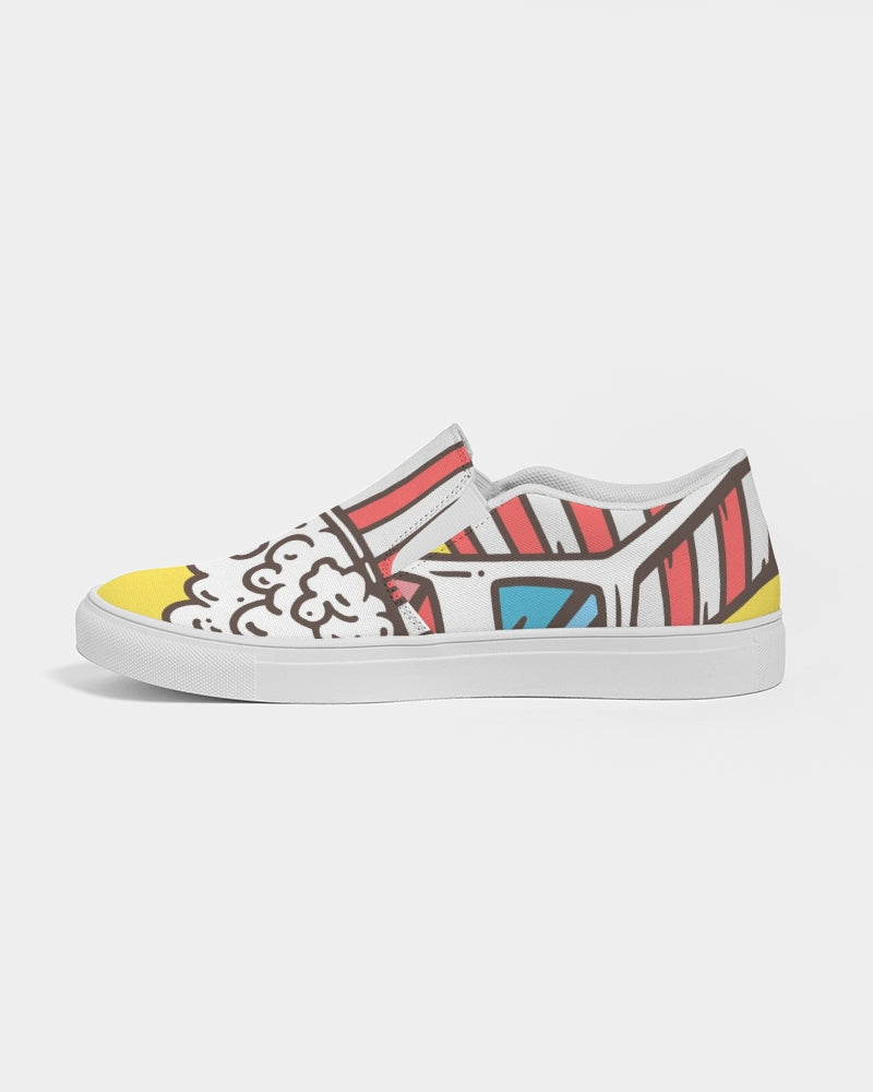 Movie Night Women's Slip-On Canvas Shoe