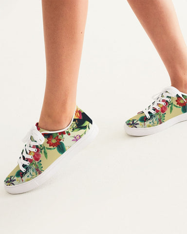 Flowers Botanic Two Tone Women's Faux-Leather Sneaker