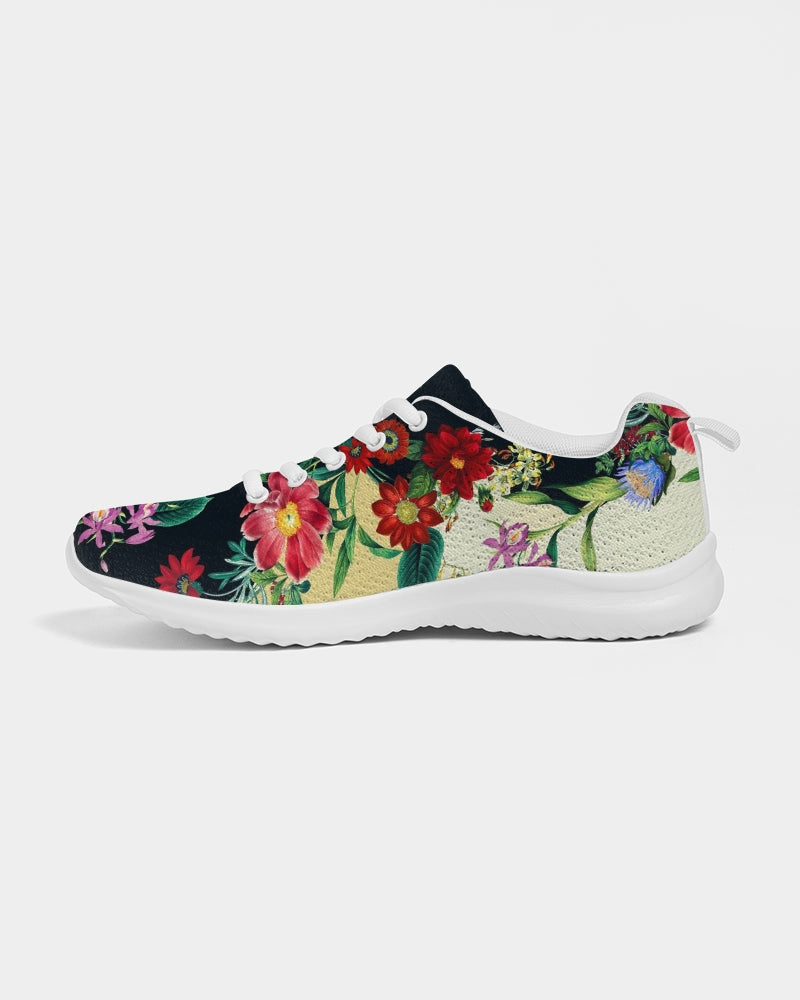 Flowers Botanic Two Tone Women's Athletic Shoe