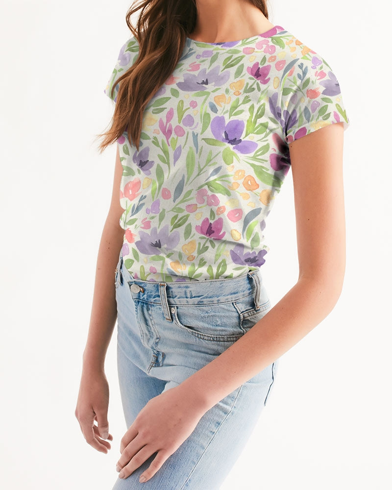 water color orchis Women's Tee