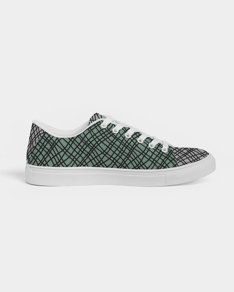 TFN Green Favor Women's Faux-Leather Sneaker