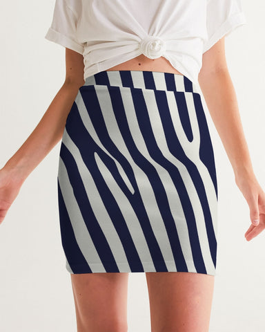 Zebra Women's Mini Skirt