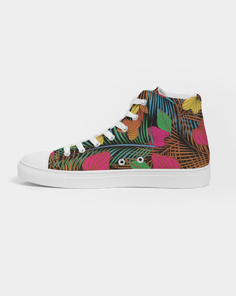 Wild Garden Women's Hightop Canvas Shoe