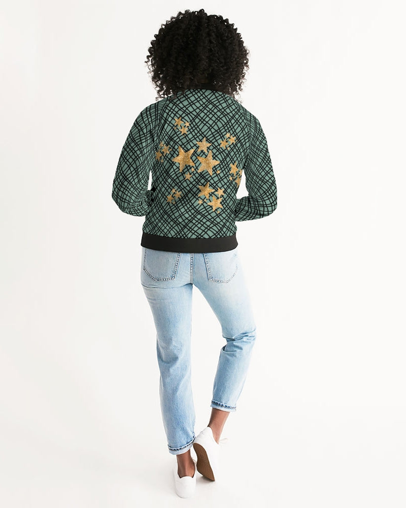TFN Green Favor Women's Bomber Jacket