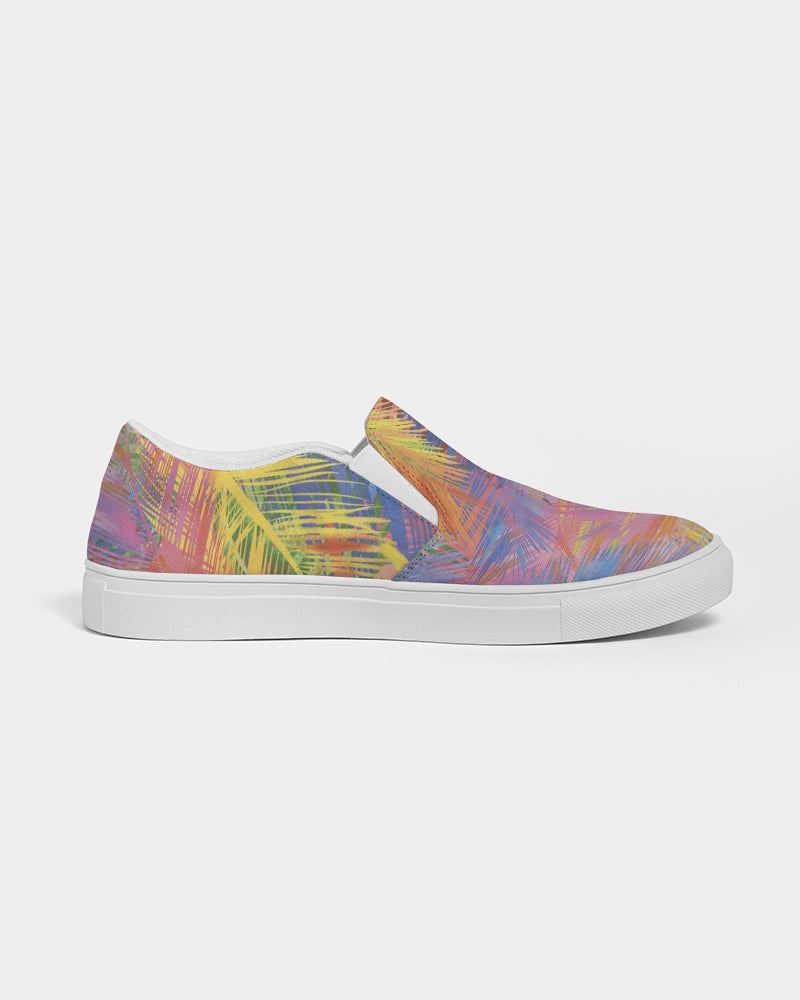 Flolige colorful Women's Slip-On Canvas Shoe