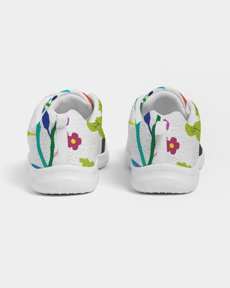 Vibrant Floral Women's Athletic Shoe