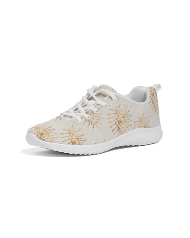 GOLD EYE PRINT Women's Athletic Shoe