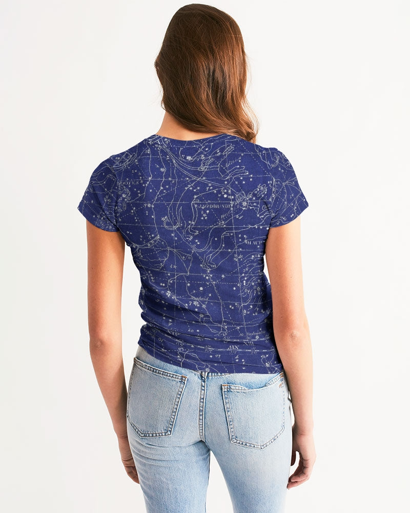 stars map blue Women's Tee