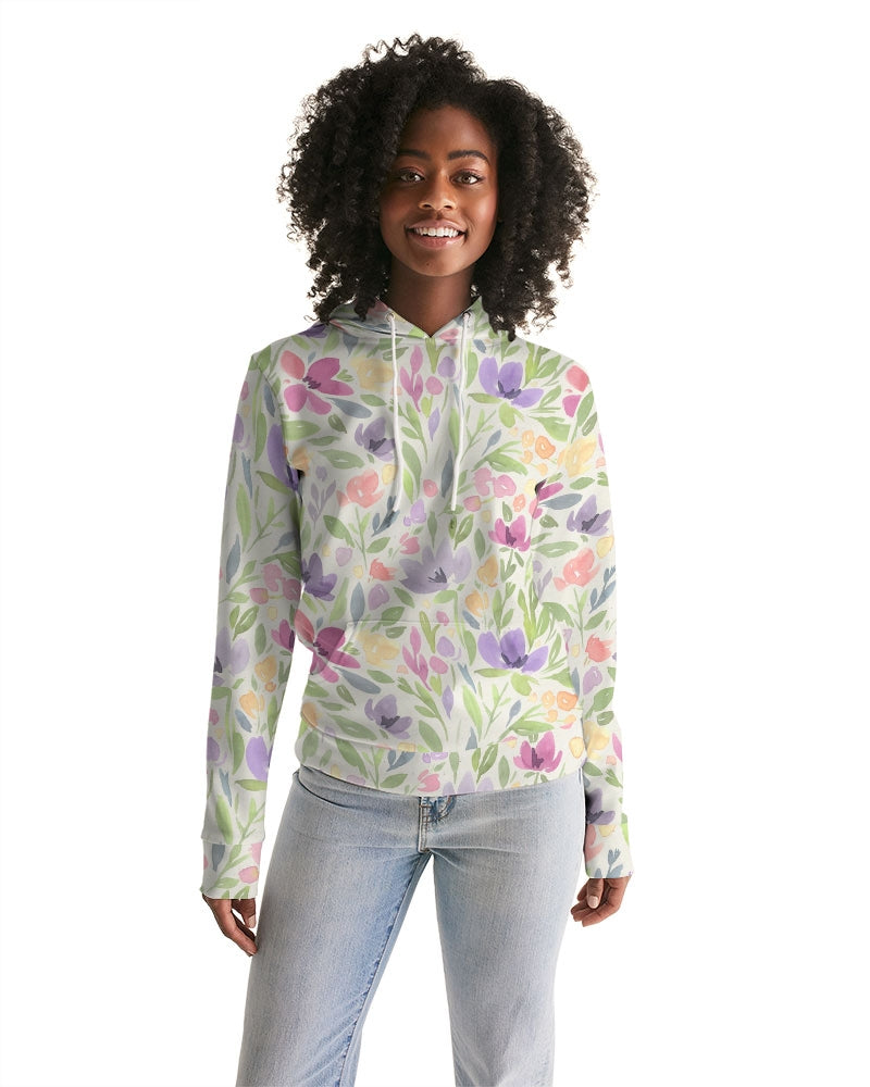 water color orchis Women's Hoodie