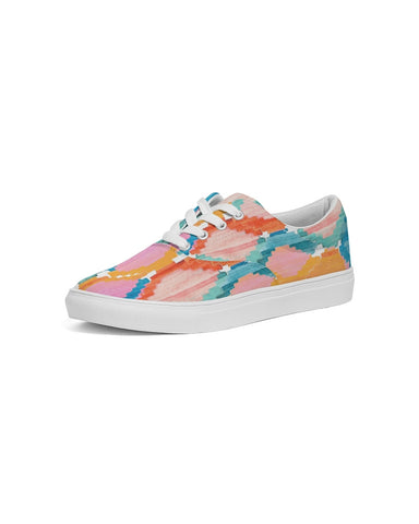 Marmalade Ikat Women's Lace Up Canvas Shoe
