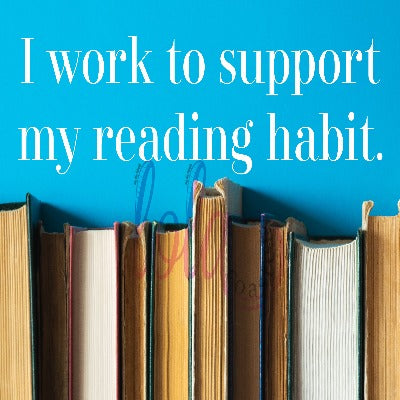 Reading is my happy place.