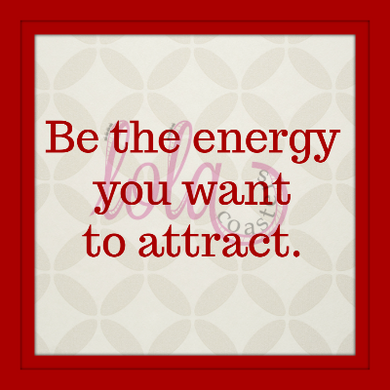 Good energy for all.