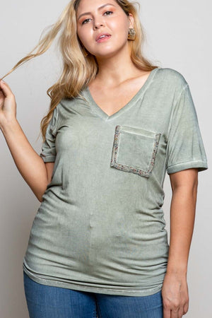 Forget the Rules Pocket Tee - Olive