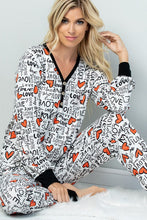 Load image into Gallery viewer, Heart and Soul Lounge Pants - Ivory