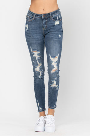 Judy Blue Heavy Destroyed Skinnies