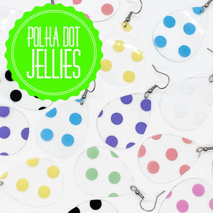 Polka Dot Jellies - Pink