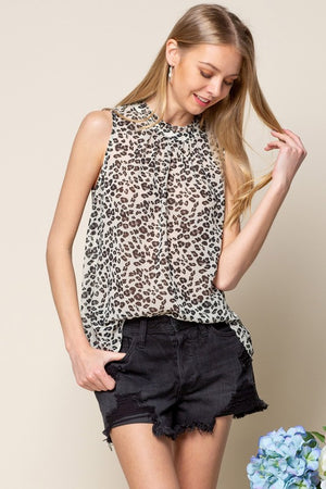 Being Your Best Animal Print Tank