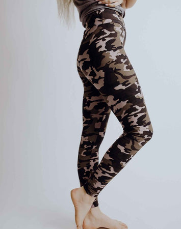 Perfect Fit Leggings - Camo