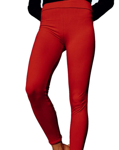Perfect Fit Leggings - Lipstick Red