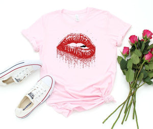 Lippy Lips Graphic Tee