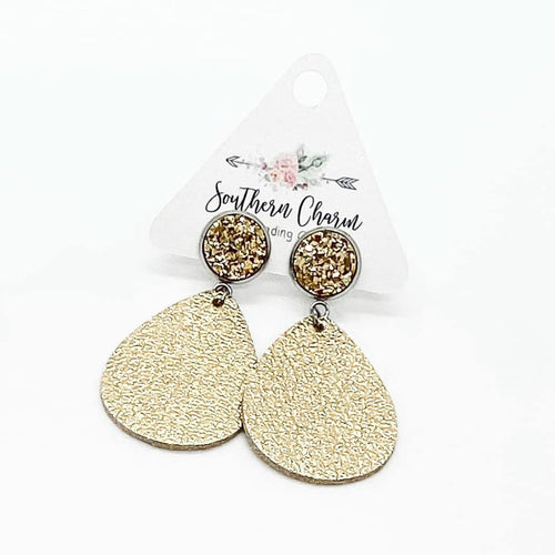 Metallic Gold Dangles