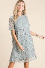 Load image into Gallery viewer, Happy Days Ahead Eyelet Dress