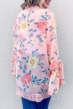 Load image into Gallery viewer, Feeling Peachy Floral Kimono