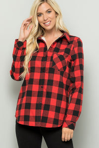 Explore the Outdoors - Red Buffalo Plaid