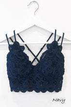 Load image into Gallery viewer, This is Love Lace Bralette - Navy