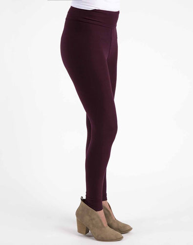 Perfect Fit Leggings - Burgundy