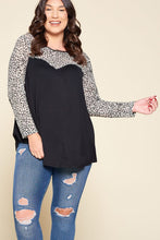 Load image into Gallery viewer, Just a Flirt Lace Detail Long Sleeve Top - Ivory