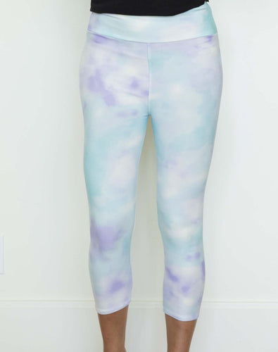 Perfect Fit Capri Leggings - Tie Dye