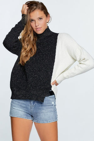 On The Other Side Colorblock Sweater