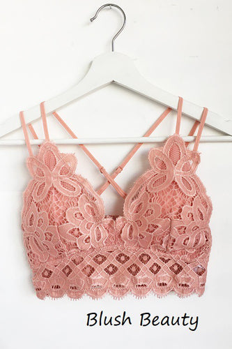 This is Love Lace Bralette - Blush Beauty