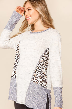 Stylish Splendor Knit Top
