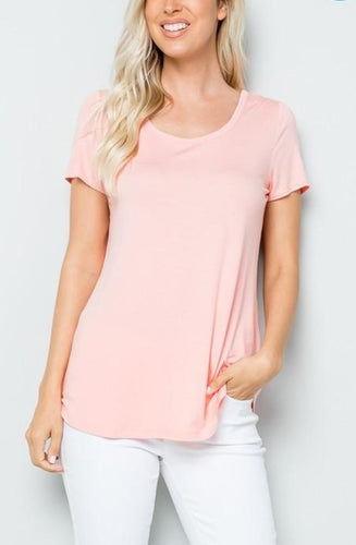 Party In the Back Tee - Pink Blush