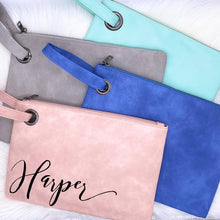Load image into Gallery viewer, The Harper Clutch - Mint