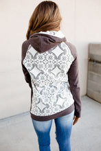 Load image into Gallery viewer, Ampersand Avenue - Doublehood™ Sweatshirt Lace Accent - Charcoal