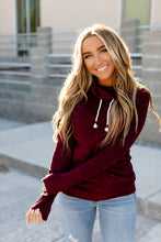 Load image into Gallery viewer, Ampersand Avenue Cowlneck Performance Fleece Wine